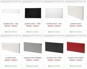 Dizajnerski radiatorji Glamox